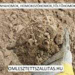Homokozó homok ár szállítás.