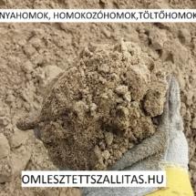 Homokozó homok szállítás ár.