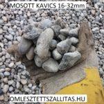 Mosott kavics szállítás ár 16-32 mm.