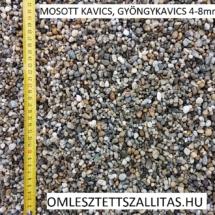 Mosott osztályozott gyöngykavics ár 4-8 mm szállítás.