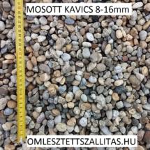 Mosott osztályozott kavics árak 8-16 mm szállítás.