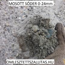 Sóder 0-24 mm szállítás ár.