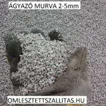Murva szállítás 2-5 mm. Ágyazó murva ár.