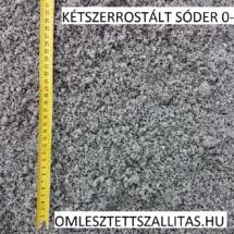 Mosott sóder kétszer rostált 0-4 mm ár szállítás.