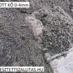 Zúzott bazalt 0-4 mm szállítás ár.