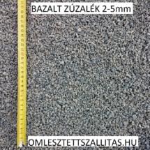 Zúzott bazalt kő 2-5 mm szállítás ár.