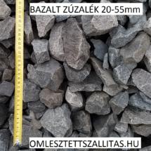 Bazalt kő zúzalék ár szállítás 20-55 mm.