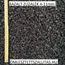Bazalt kő zúzalék 4-11 mm szállítás ár.