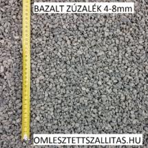 Bazalt kő zúzalék 4-8 mm szállítás ár.