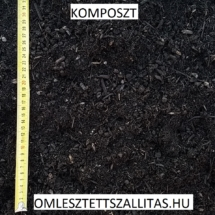 Komposzt szállítás ár Budapest.